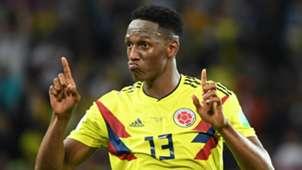 Yerry Mina Colombia Mundial 2018