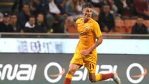 Patrik Schick Milan Roma Serie A 08312018