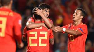Isco Alarcon España Croacia Spain Croatia UEFA Nations League 11092018