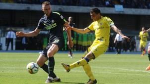 Manuel Pucciarelli Milan Skriniar Chievo Inter