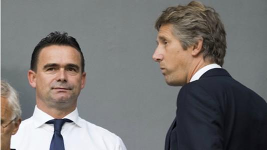 Marc Overmars, Edwin van der Sar, Ajax, 08172017
