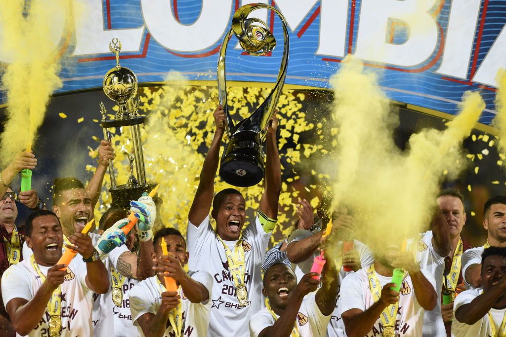 Deportes Tolima campeón Liga Águila 2018-I