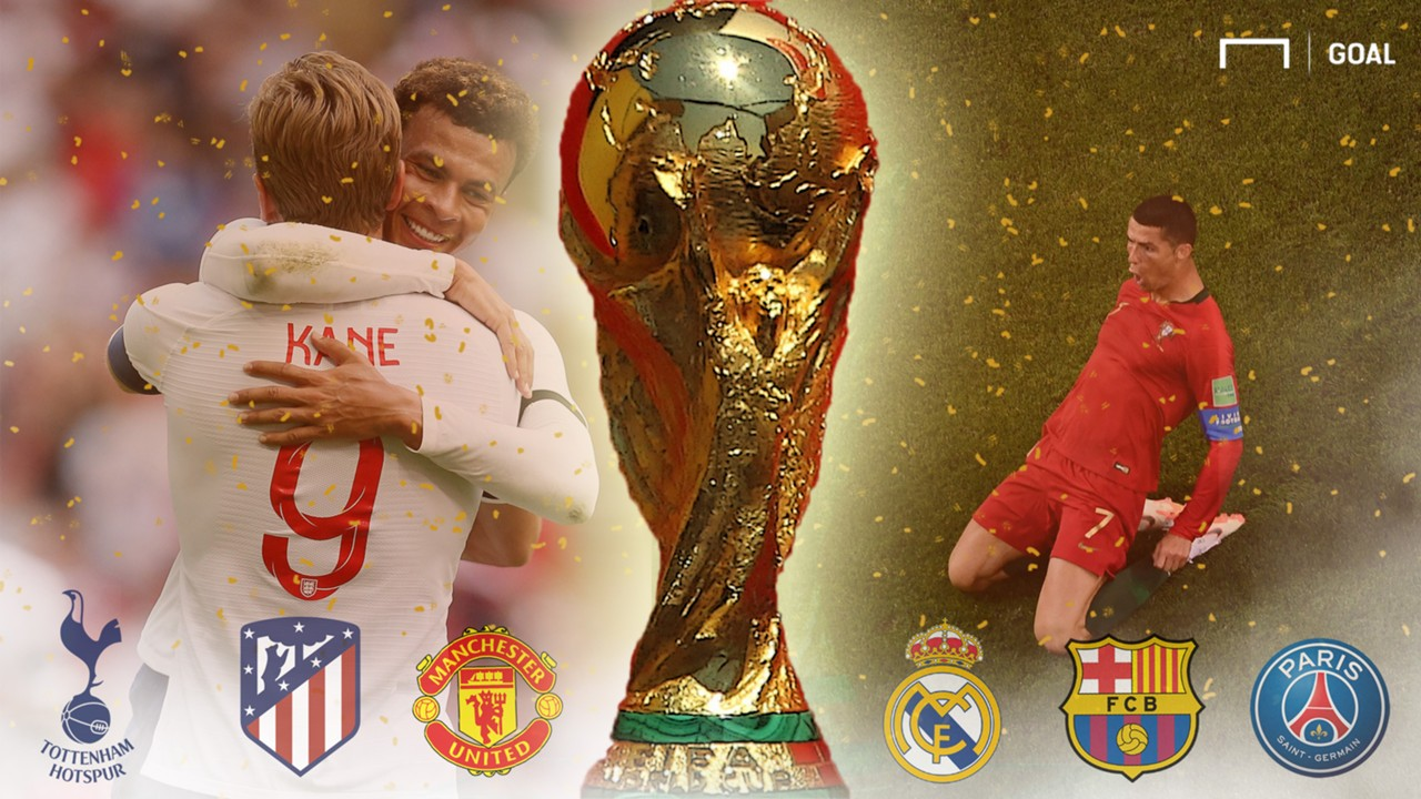 GFX Klubs mit den meisten Toren bei der WM
