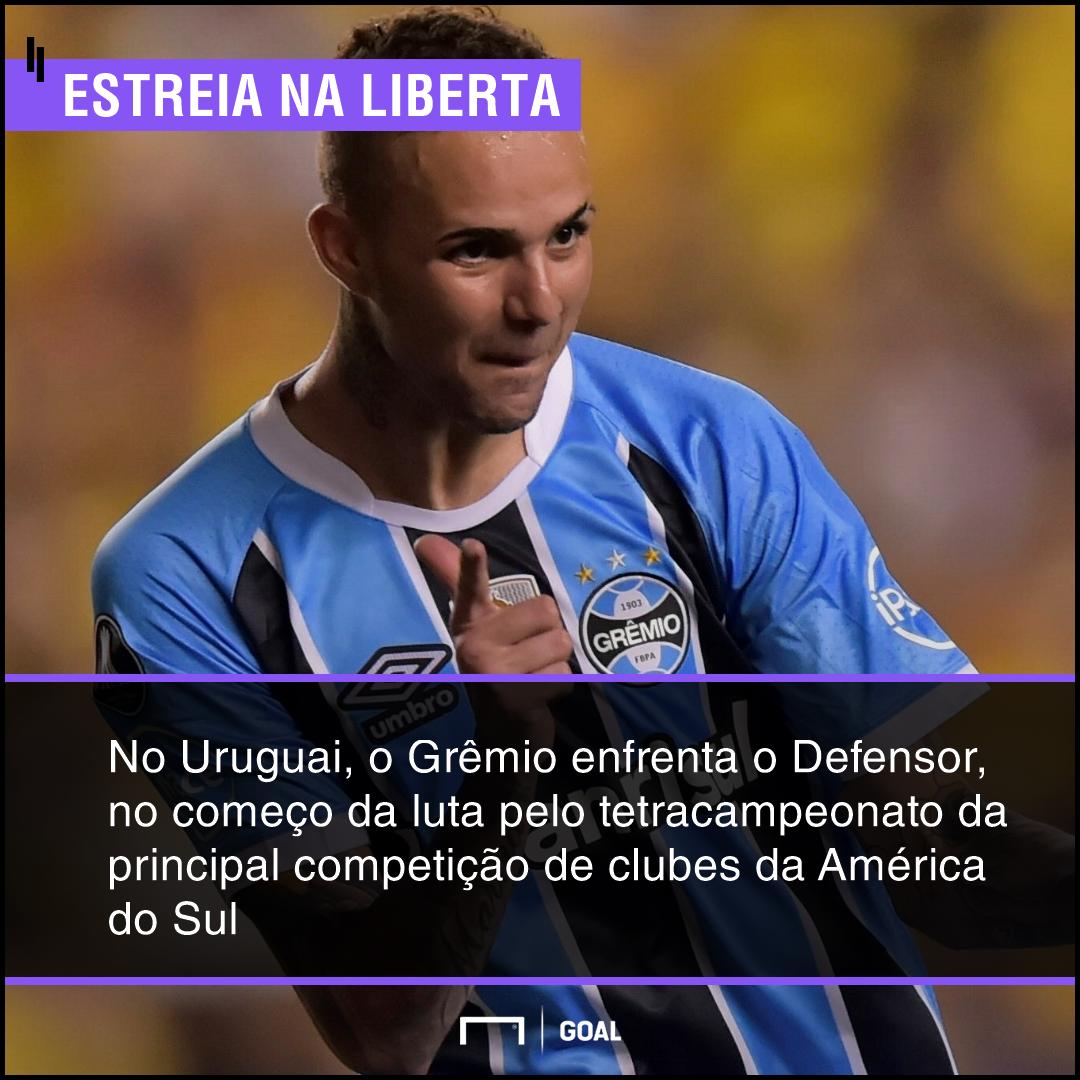 GFX bet365 Defensor x Grêmio