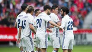 Sporting Gijon Real Madrid La Liga