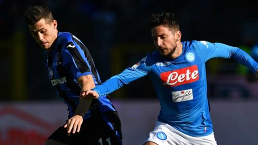 Freuler Mertens Atalanta Napoli Serie A