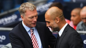 David Moyes Pep Guardiola