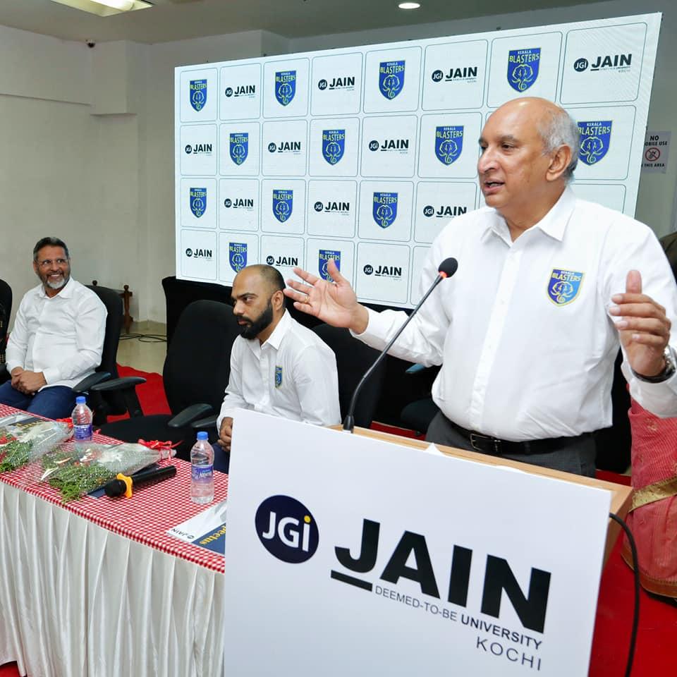 Kerala Blasters owner Nimmagadda Prasad