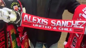 bufanda Alexis Sánchez Manchester United