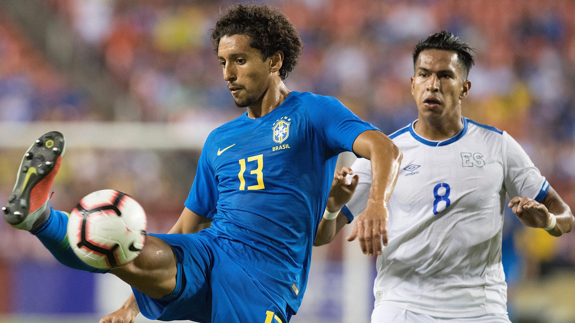 Marquinhos Brazil El Salvador Friendly 11092018