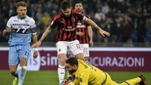 Gianluigi Donnarumma Lazio Milan