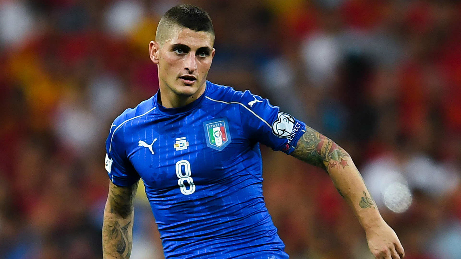 Marco Verratti Spain Italy WC Qualifiers