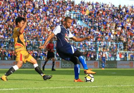 Sepasang Gol Ortega Buyarkan Pesta Arema
