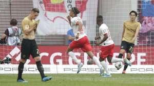 Werner und Poulsen-Hammer schießen RB zum Sieg - SGE-Aufholjagd kommt zu spät