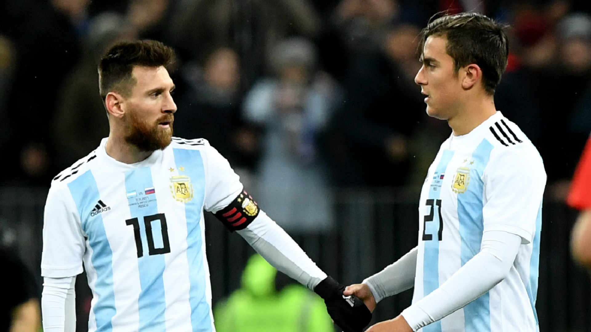 Lionel Messi Paulo Dybala Argentina