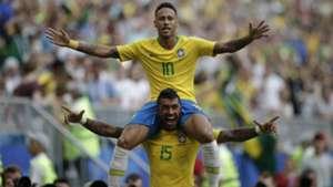 Neymar Paulinho I Brasil México I 02 07 18 I Copa do Mundo