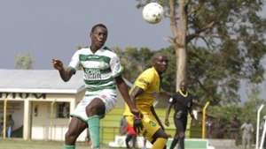 Nzoia Sugar defender Brian Otieno.