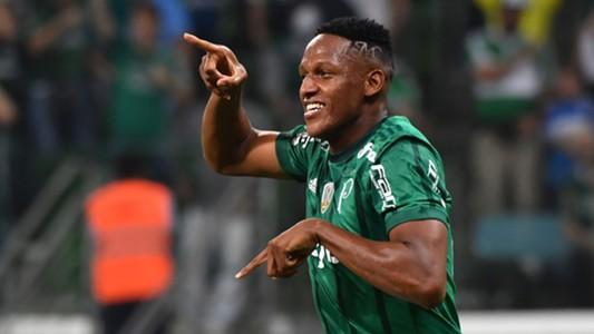 Yerry Mina Palmeiras Atletico Tucuman Libertadores 24052017
