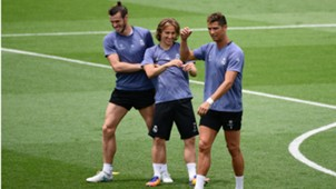 Gareth Bale Luka Modric Cristiano Ronaldo Real Madrid