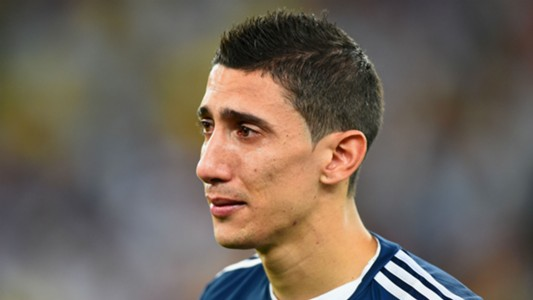 Angel Di Maria Argentina World Cup final 2014