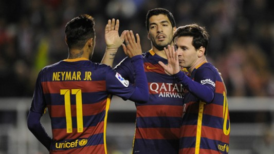 Lionel Messi Luis Suarez Neymar Barcelona