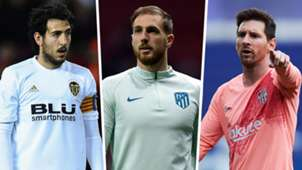 Parejo Oblak Messi Liga TOTS