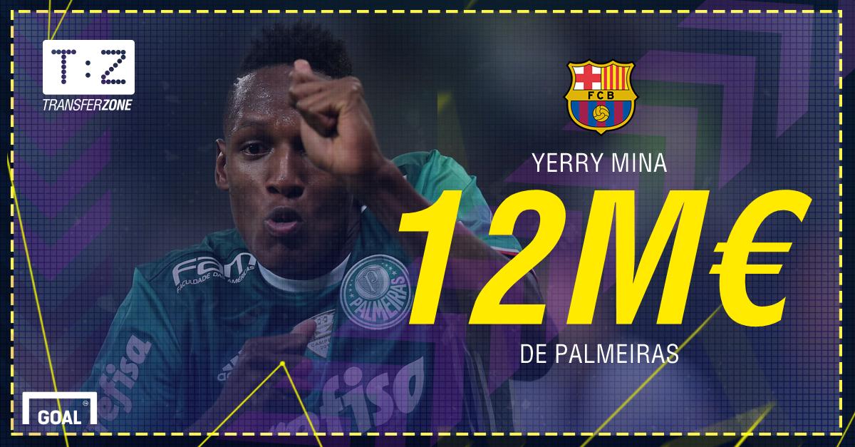 PS Transferts Yerry Mina