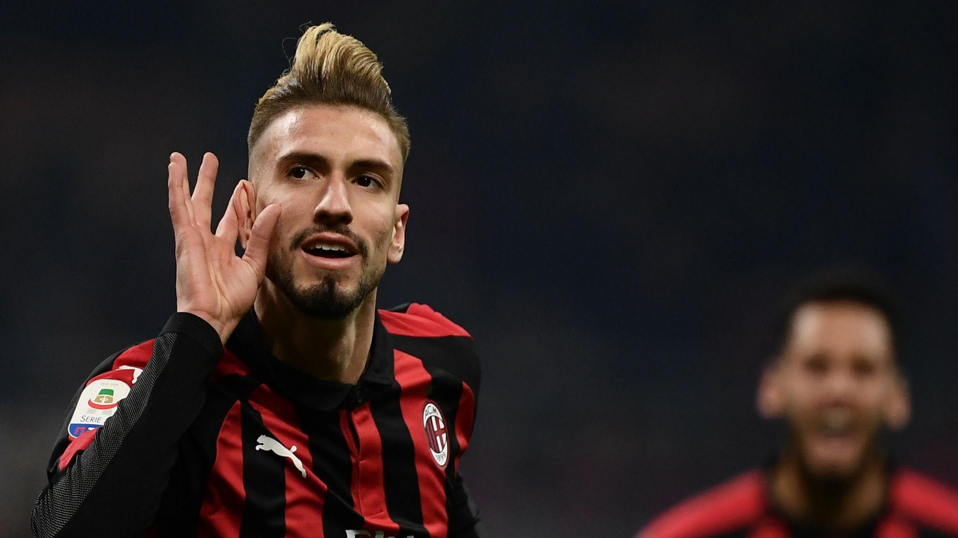 Samuel Castillejo Milan SPAL Serie A