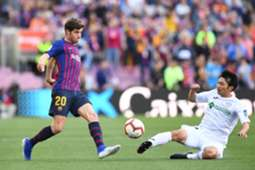 Sergi Roberto Barcelona Getafe LaLiga