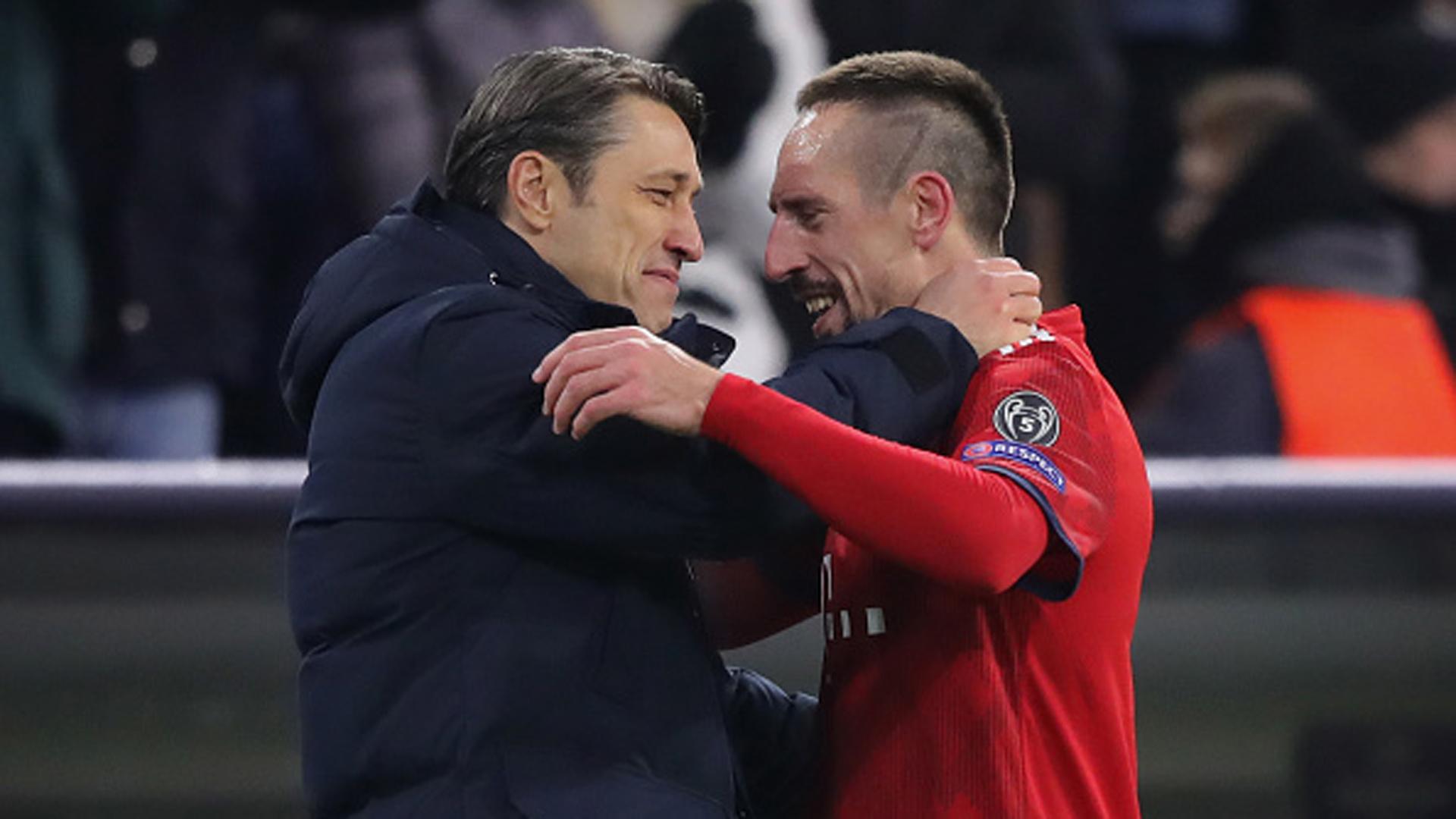 Niko Kovac Franck Ribery FC Bayern 27112018
