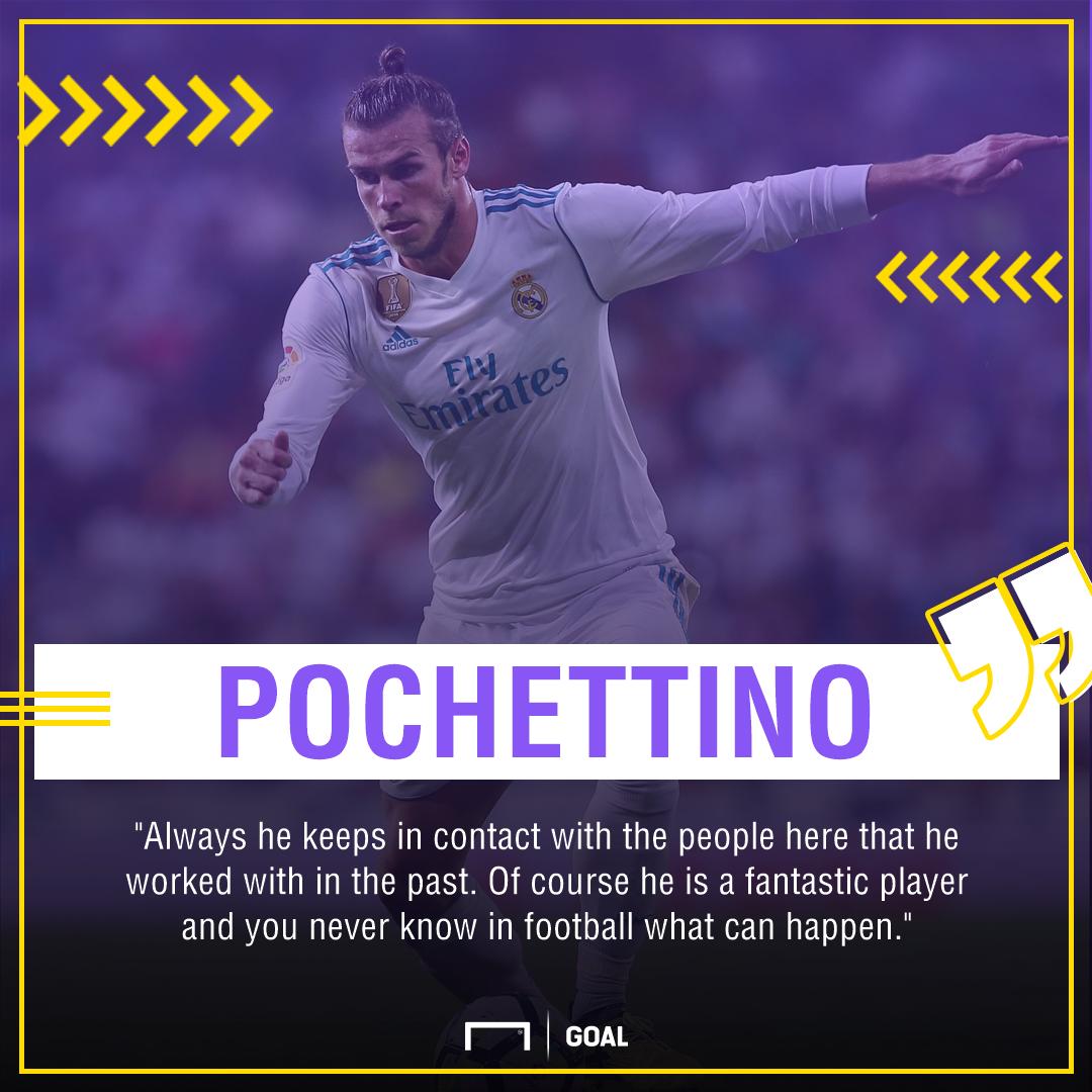 Gareth Bale Mauricio Pochettino Tottenham return