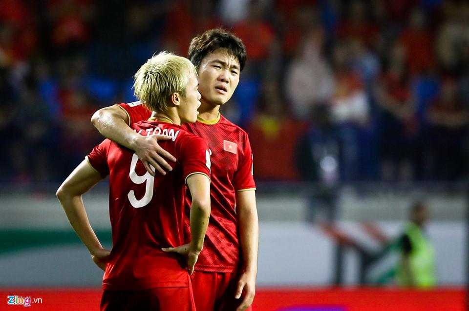 Luong Xuan Truong Nguyen Van Toan Vietnam Japan Asian Cup