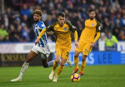 Solly March - Huddersfield Town v Brighton & Hove Albion