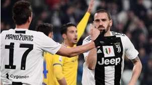 Bonucci Juventus Frosinone Serie A