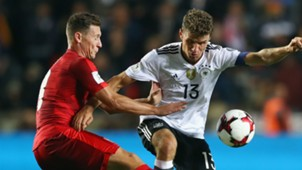 HD Thomas Mueller Jan Boril Germany Czech Republic
