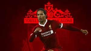 Virgil Van Dijk Liverpool GFX