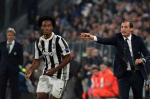 Juan Cuadrado Juventus vs Sporting Champions League