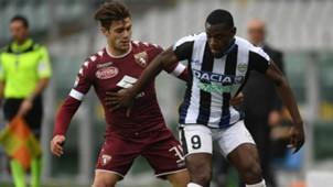Duván Zapata Udinese vs Torino 2017