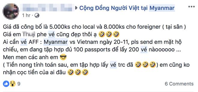 CĐV Việt Nam Myanmar