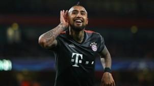 Arturo Vidal Arsenal Bayern Munchen UEFA Champions League 03072017