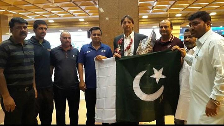Jose Antonio Nogueira Olympic Pakistan