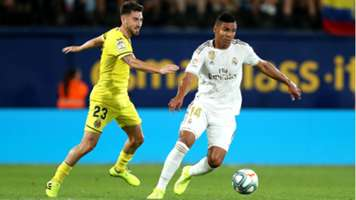 Casemiro Villarreal Real Madrid 2019