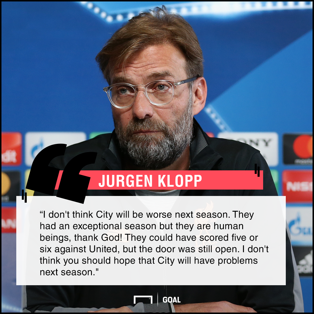 Jurgen Klopp quote