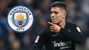 Luka Jovic Man City