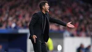 Diego Simeone Atletico Madrid FC Barcelona 15102017