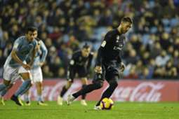 SERGIO RAMOS CELTA REAL MADRID LALIGA