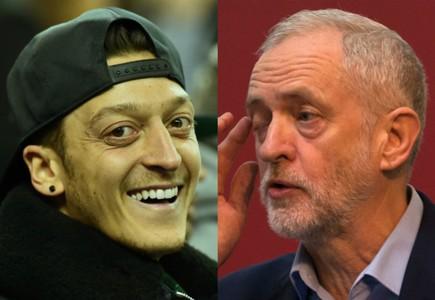 HP Mesut Ozil Jeremy Corbyn