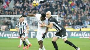 Bram Nuytinck Franck Kessiè Udinese Milan Serie A