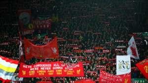 FC Liverpool Fans gegen FC Bayern 2019