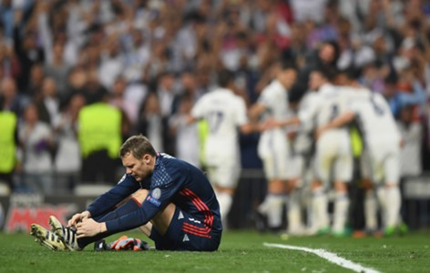 *NO GALLERY* Manuel Neuer FC Bayern München Real Madrid